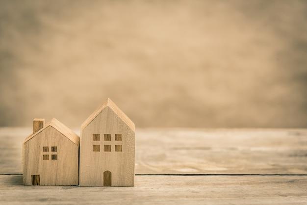 Huis en onroerend goed concept