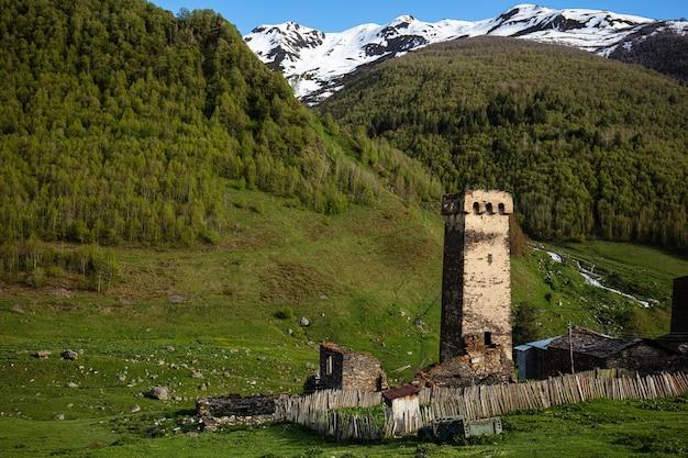 Huis op de bergen