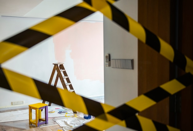 Huis renovatie concept