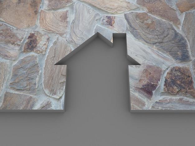Huis steen