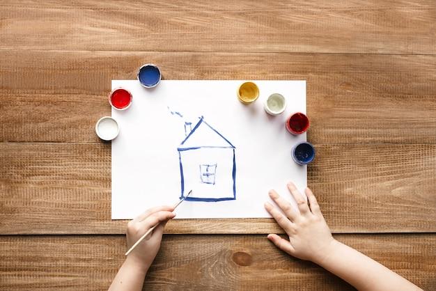 Huis tekening