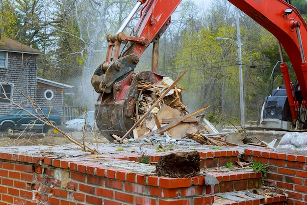 Huis tragedie huis ontmanteling