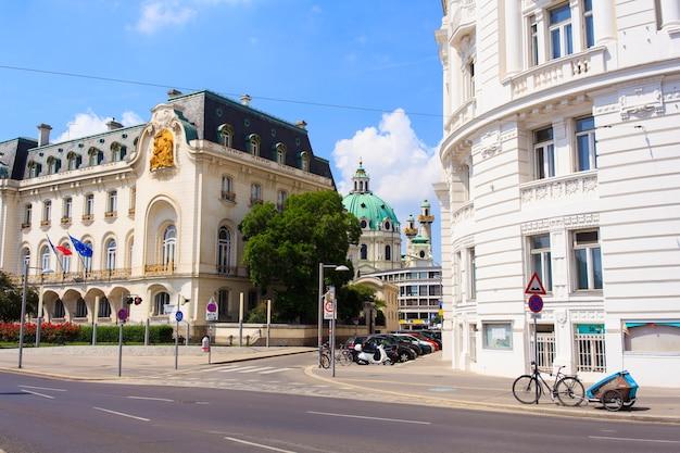 Huis van de franse ambassade in oostenrijk