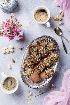 Huisgemaakte chocoladekoekjes madeleine