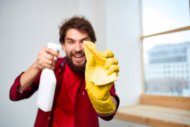 Huishoudster wasaccessoires hygiëne thuiszorg
