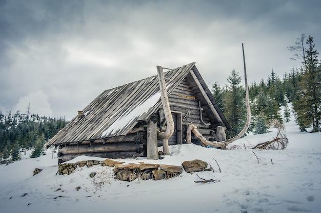 Huisje in de barania-hal