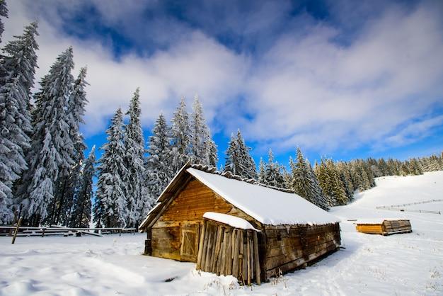 Huisje in de bergen