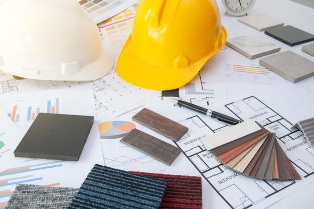 Huismaterialen voor ingenieur