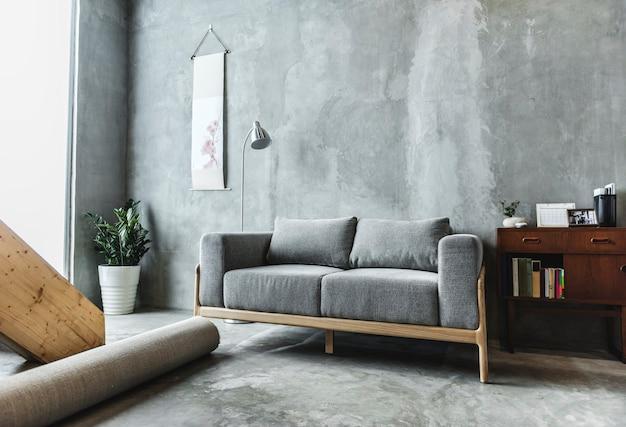 Huisontwerp met moderne eigentijdse stijl