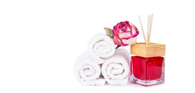 Huisparfum met rozengeur