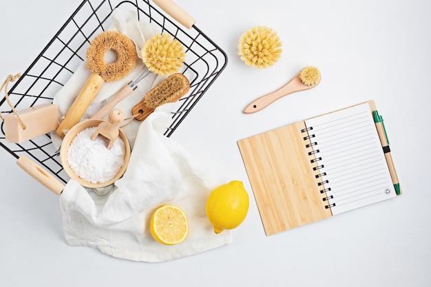 Huisreiniging niet-giftige, natuurlijke producten