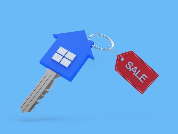 Huissleutel met verkooplabel