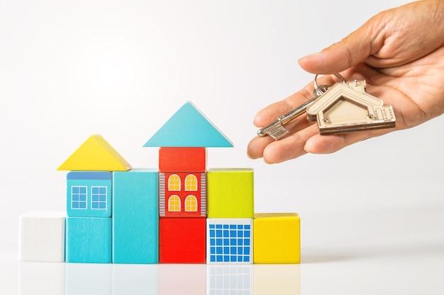 Huissleutels met huis