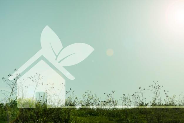 Huizen milieu concept
