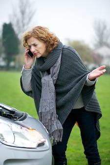 Hulp van de klantenservice van automobile