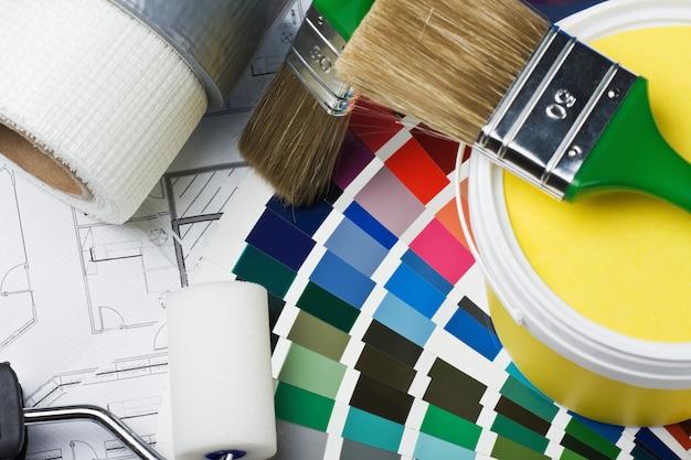 Hulpmiddelen en accessoires voor woningrenovatie