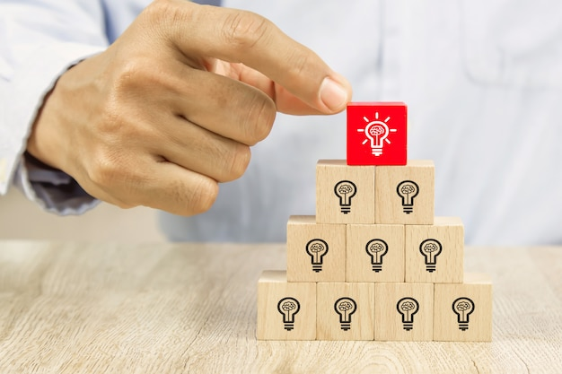 Human resources close-up concept