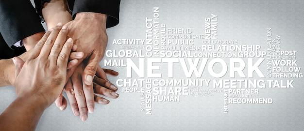 Human resources en mensen netwerken concept