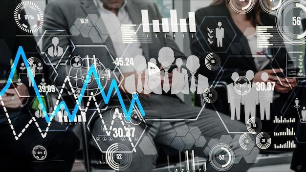 Human resources en people networking conceptueel
