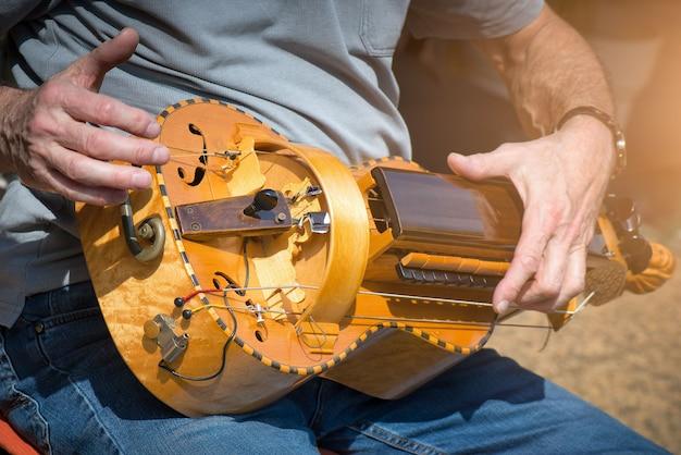 Hurdy-gurdy-speler