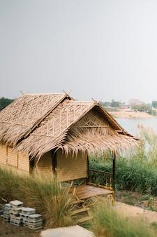 Hut voor boer in thaise stijl