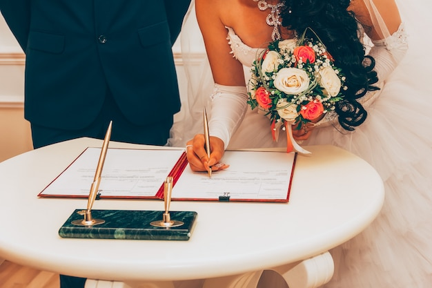 Huwelijk, registratie van het huwelijk