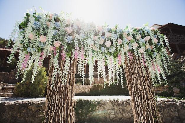 Huwelijksceremonie decoratie
