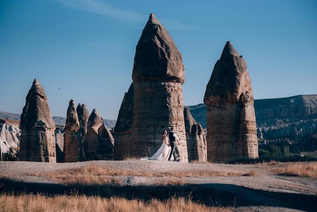 Huwelijkssessie in cappadocië, turkije