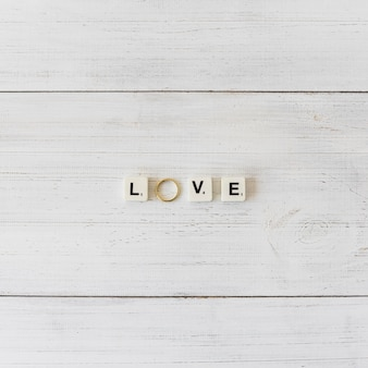 Huwelijksstilleven met brieven