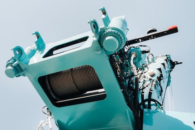 Hydrostatische kraanmotor.