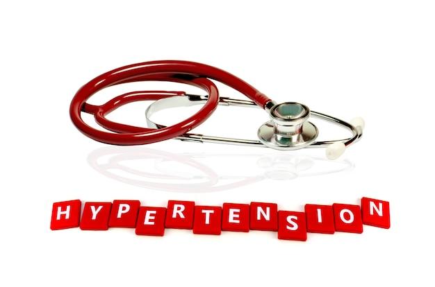 Hypertention behandelingsconcept.