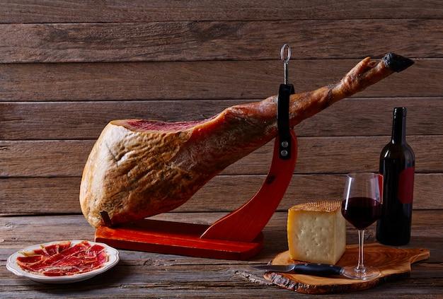 Iberische ham pata negra uit spanje