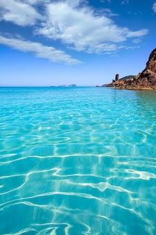Ibiza aigues blanques het strand van aguas blancas in santa eulalia
