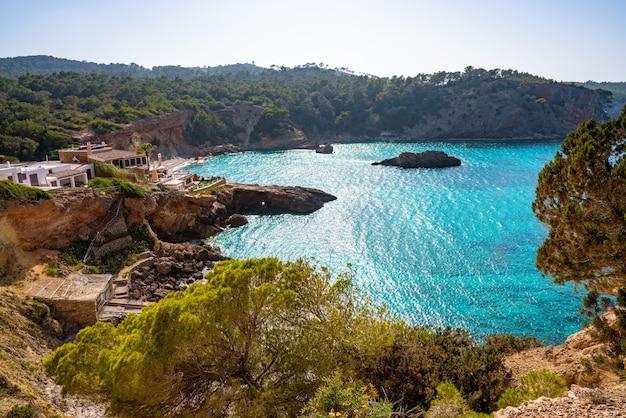Ibiza cala xarraca in sant joan van balearen