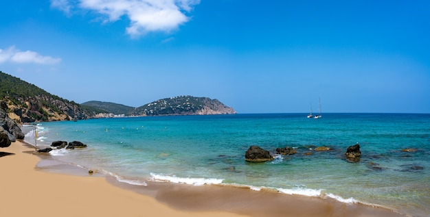 Ibiza strand aigua blanca in santa eulalia