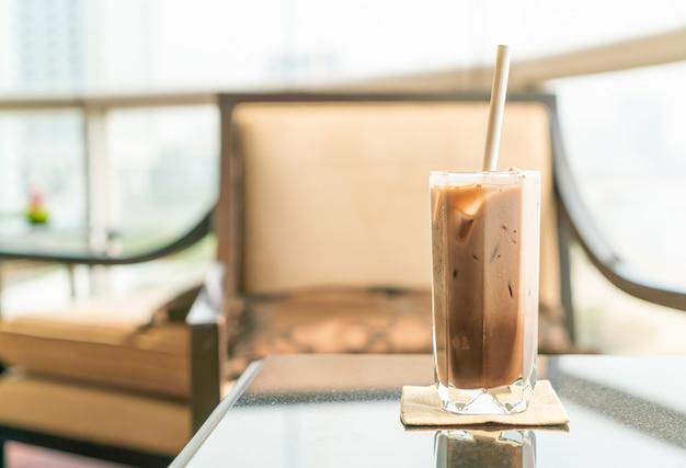 Iced chocolate cacaoglas