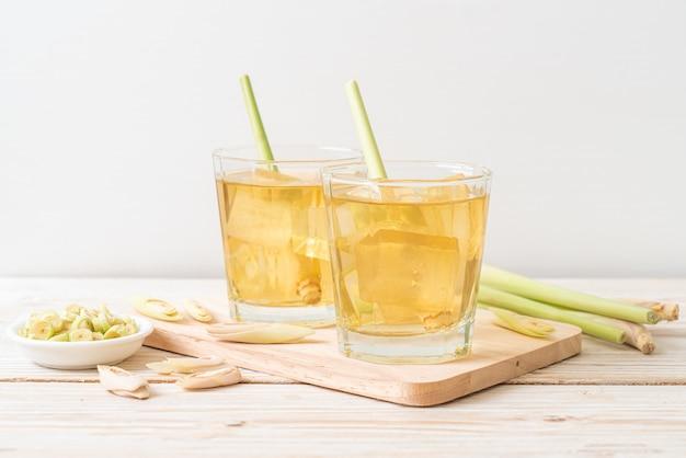 Iced lemon grass juice