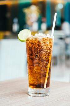 Iced soda drinkglas