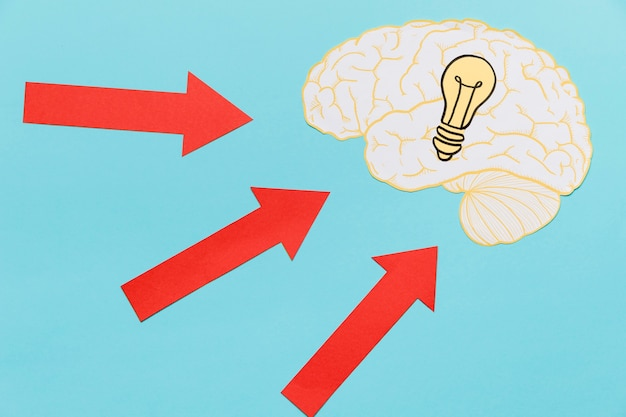 Ideeën met pijlen die wijzen