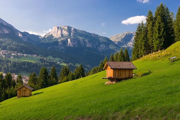 Idyllisch berglandschap