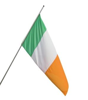 Ierse vlag geïsoleerd