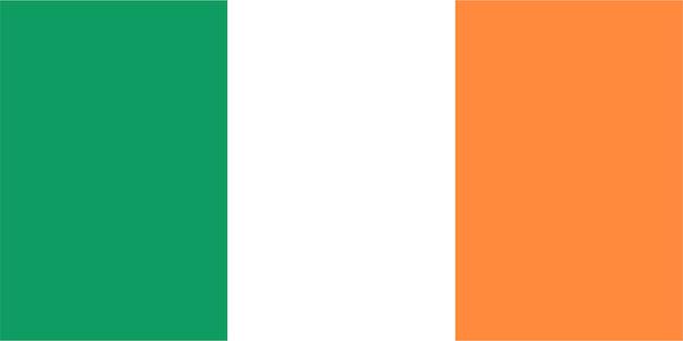 Ierse vlag van ierland
