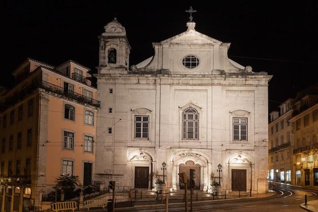 Igreja da madalena (st madalena-kerk), lissabon, portugal