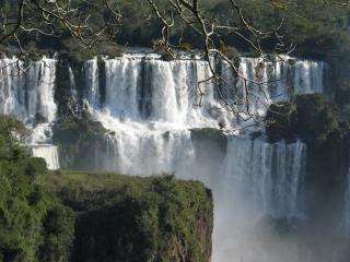 Iguazu falls, groen