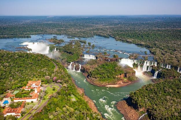 Iguazu valt helikopterview