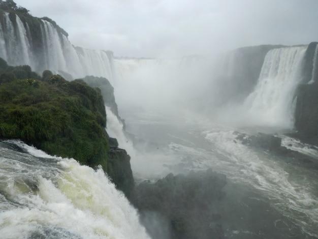 Iguazu valt in argentinië en brazilië