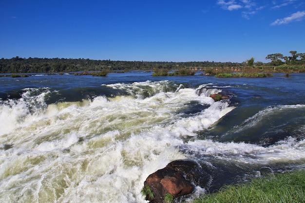 Iguazu-watervallen in argentinië en brazilië