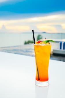 Ijs drinken cocktails glas