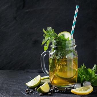 Ijs groene thee