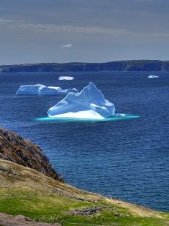 Ijsberg gletsjer
